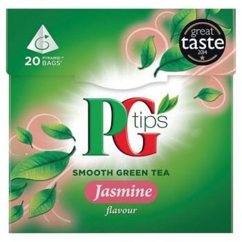 Pg Tips Jasmine Green Tea 20S Teabags 28G