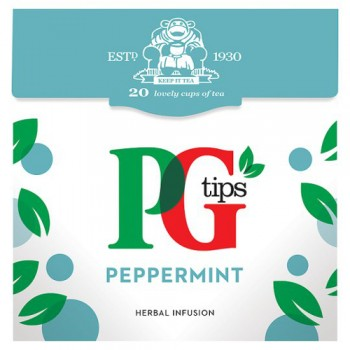 Pg Tips Peppermint 20S Pyramid Teabags 22G