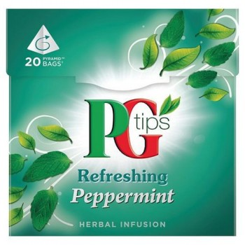 Pg Tips Peppermint 20S Teabags 22G