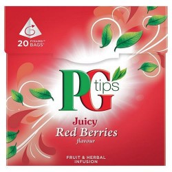 Pg Tips Red Berries 20 Teabags 38G