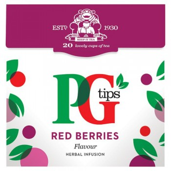 Pg Tips Red Berries 20S Pyramid Teabags 38G