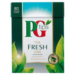 Pg Tips The Fresh One 80S Pyramid Teabags 232G