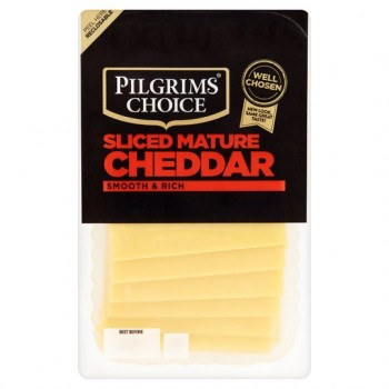 Pilgrims Choice Mature Cheddar Slices 280G