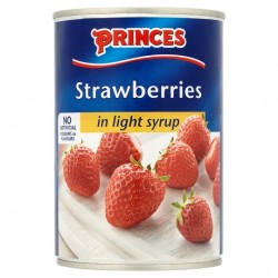 Princes Strawberries In Syrup 420G
