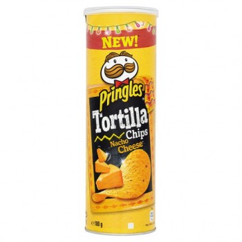 Pringles Tortilla Nacho Cheese 180G