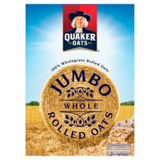 Quaker Jumbo Rolled Porridge Oats 1Kg