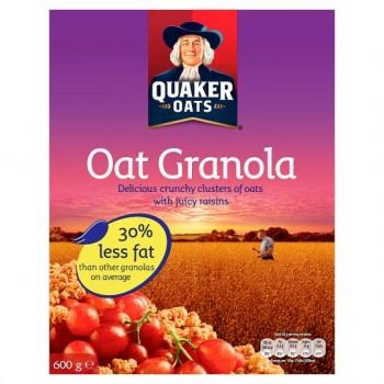 Quaker Oat Granola Cereal 600G