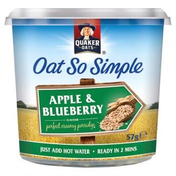 Quaker Oat So Simple Apple And Blueberry Porridge 57G