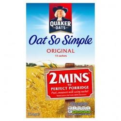 Quaker Oat So Simple Original Porridge Cereal 324G