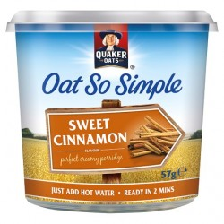 Quaker Oat So Simple Sweet Cinnamon Porridge 57G