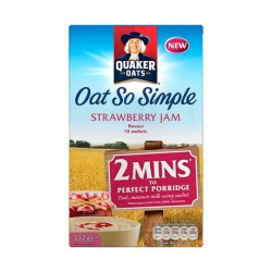 Quaker Oats So Simple Strawberry Jam 332G