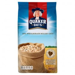 Quaker Traditional Porridge Oats 500G ++