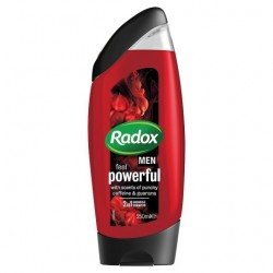 Radox Men Feel Powerful Shower Gel 250Ml