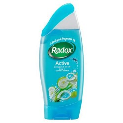 Radox Shower Gel Shampoo Active 250Ml