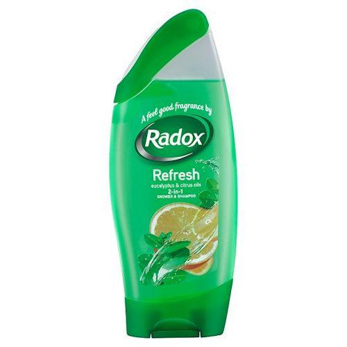Radox Shower Gel Shampoo Refreshing 250ml British Foods