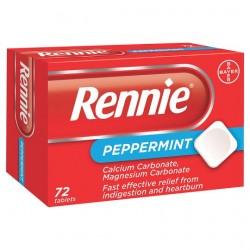 Rennie Peppermint 72'S
