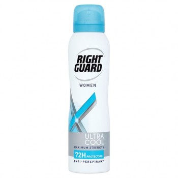 Right Guard Xtreme Dry Women Ultra Cool 72H Apa 150Ml