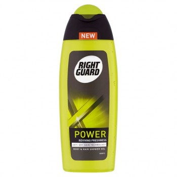 Right Guard Xtreme Power Shower Gel 250Ml