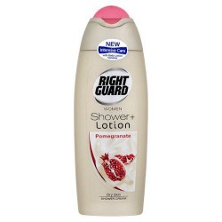 Rightguard Women Lotion Pomegranate Shower Gel 250Ml