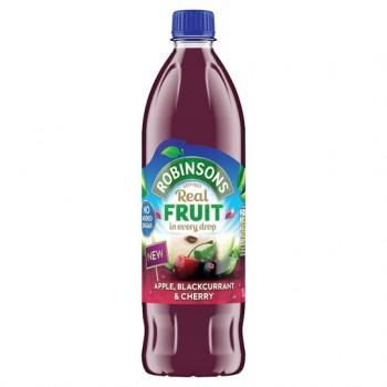 Robinsons Apple Blackcurrant Cherry Squash 1L