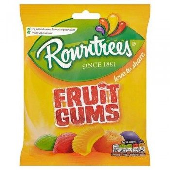 Rowntrees Fruit Gums Bag 170G