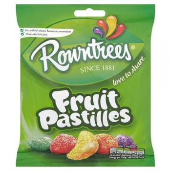 Rowntrees Fruit Pastilles Bag 170G