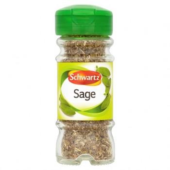 Schwartz Rubbed Sage 10G Jar