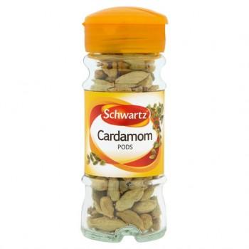 Schwartz Whole Cardamon 26G
