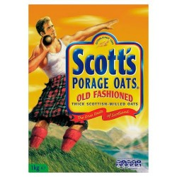 Scott's Old Fashion Oat Porridge 1Kg
