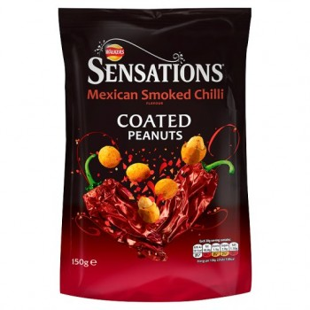 Sensations Mexican Smoked Chilli PeaNut150g