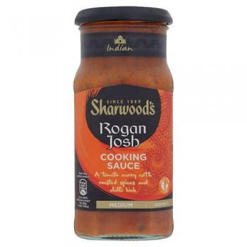 Sharwoods Rogan Josh Medium Sauce 420G