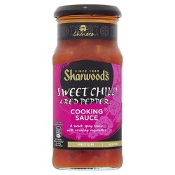 Sharwoods Szechaun Sweet Chilli And Red Pepper Sauce 425G