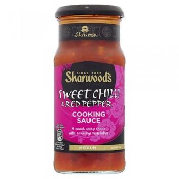 Sharwoods Szechaun Sweet Chilli And Red Pepper Sauce 425G