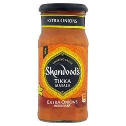 Sharwoods Tikka Extra Onion 420G