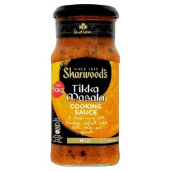 Sharwoods Tikka Masala With Saag 420G