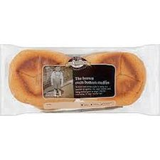 Sheldons Brown Oven Bottom Muffins 4 Pack