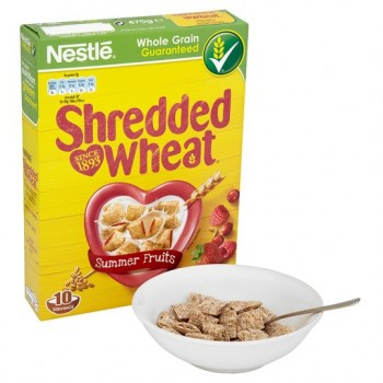 Shredded Wheat Raspberry Strawberry And Cranberry 470G