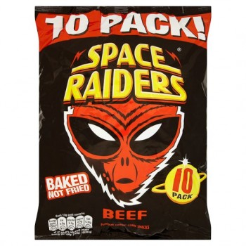 Space Raiders Beef 10X13g