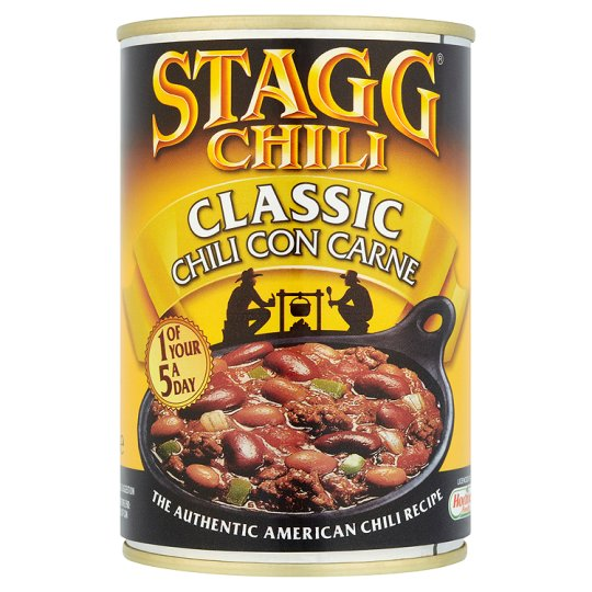 ... Meat, Pies & Ready meals / Stagg Chili Classic Chili Con Carne 400G