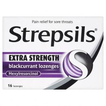 Strepsils Extra Blackcurrant 16S
