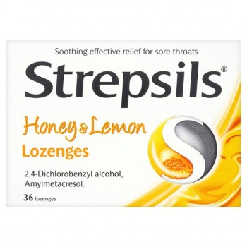 Strepsils Honey And Lemon 36S