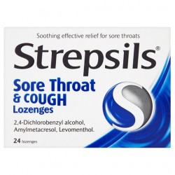Strepsils Sore Throat And Cough