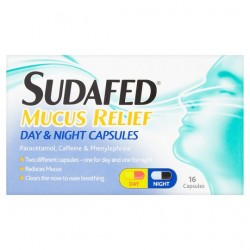 Sudafed Mucus Day And Night Relief 16S