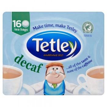 Tetley Decaffeinated Teabags 160'S 500G
