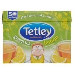 Tetley Green And Lemon 50 Teabags 100G