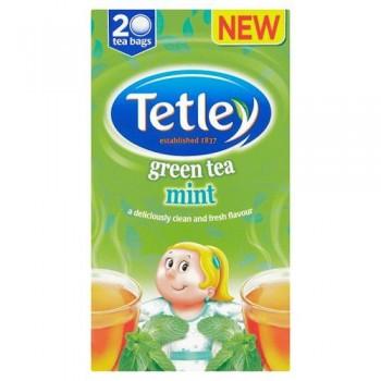 Tetley Green Tea Mint 20S 40G