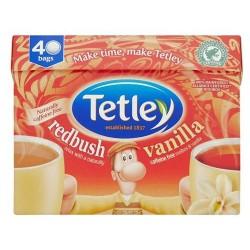 Tetley Redbush And Vanilla 40S 100G
