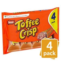 Toffee Crisp 4 Pack 172G