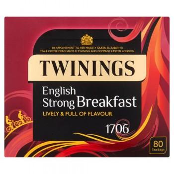 Twinings 1706 Tea Bags 80S 250G