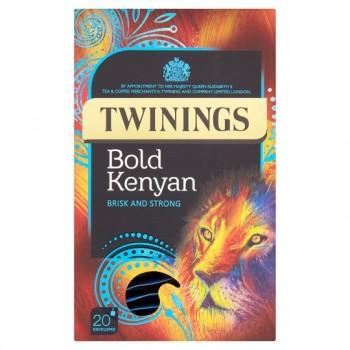 Twinings Bold Kenyan 20 Tea Bags 50G
